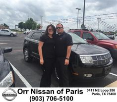 "https://flic.kr/p/sWreHb | Congratulations to Allison Wolf on your #Lincoln #Mkx from Nick Jones at Orr Nissan of Paris! #NewCar | <a href=""http://www.parisnissan.com/?utm_source=Flickr&utm_medium=DMaxxPhoto&utm_campaign=DeliveryMaxx"" rel=""nofollow"">www.parisnissan.com/?utm_source=Flickr&utm_medium=DMa...</a>"