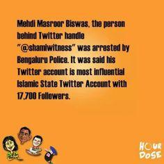 Islamic state.  #Terrorism in #India
