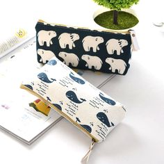 Kawaii animal pencil case School Supplies Kawaii Stationery Estuches Chancery School Cute Pencil Box Pencilcase penalty 04930 #Affiliate