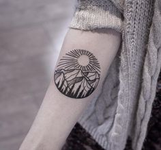 Mountain tattoo | Nature Tattoo