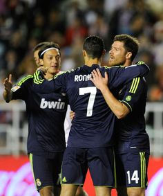 Mesut, Cristiano, and Xabi - Real Madrid