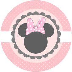 Dicas pra Mamãe: Kit gratuito para imprimir da Minnie cor de rosa                                                                                                                                                                                 Mais