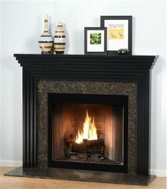 The Stratum Contemporary Mantel  from Design the Space