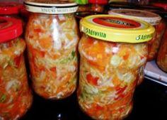 Охотничий салат на зиму – вкусное овощное ассорти! Салат охотничий из зеленых помидор на зиму