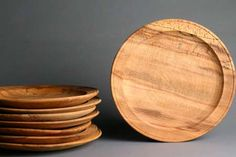 Mary Rose Dinner plate, made from beech like the originals found on the Tudor warship.