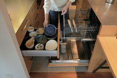 食洗機から食器棚への最短導線 Kitchen Storage, Storage Spaces, Stylish Kitchen, Kidsroom, Minimalist, Interior, Projects, House, Design