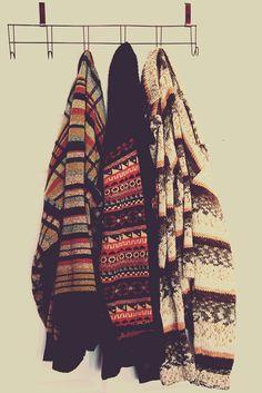 Drie prachtige truien die wij ook wel aan de muur zouden willen hebben hangen!