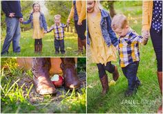 Tri Cities Washington Family Photographer | Lifestyle Portraits by Janel Gion Photography | Fall Outfits | What to Wear Family Photo Session