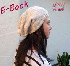Strickanleitungen - E-Book❀#29❀Lini - Beanie ❀ Mütze stricken DIY - ein Designerstück von WoolAffair bei DaWanda
