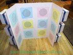 Shannon Makes Stuff: Punch A Box.Game Idea- fun for singing time or sharing time Shower Prizes, Shower Bebe, Singing Time, Party Activities, Reveal Parties, Jouer, Baby Shower Games, Birthday Parties, Kid Parties