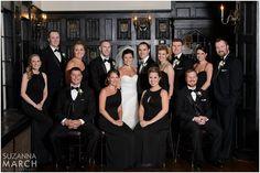 Suzanna March Photography #AldenCastle #ModernVintage #Wedding #WeddingParty