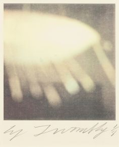 Cy Twombly - Celtic Boat, Gaeta, dry ink photograph 15 x 12 inches edition of 8 (1994)