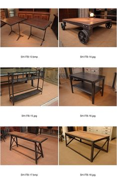 THE INDUSTRIAL FURNITURE - Industrial Tables