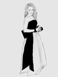 Kylie Minogue Met Gala 2013 by Nazgrelle on deviantART