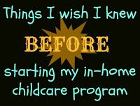 Tips and advice on common issues facing new daycare providers who are starting and running a home daycare