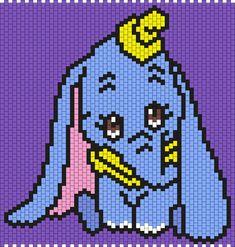 Dumbo (Multi / Brick Stitch Pattern)