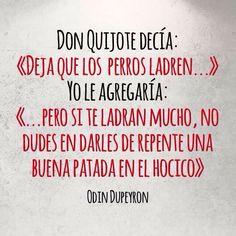 Don Quijote decia...                                                                                                                                                                                 Más