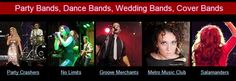 Hire Utah's best live bands for corporate events, weddings, or parties. We offer the most incredible Utah wedding music bands, cover bands, and Top 40 bands. Wedding Music, Wedding Bands, Cover Band, Music Bands, Best Part Of Me, Utah, Dance, Party, Dancing
