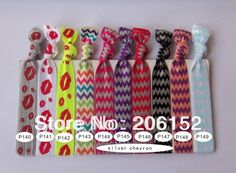 HOT!!! Fashion AZTEC Printed FOE Hair Tie, fold over elastic hair tie, elastic hair bands,100styles pick up 10pcs/style mixed on Aliexpress.com   Alibaba Group