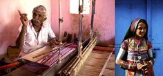 "Rich and diverse creative traditions of Kachchh (often written as ""Kutch"") is located in Gujarat state, India 