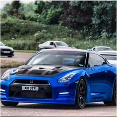 Here's a BLUE GTR GORGEOUS!