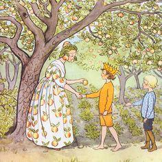 Elsa Beskow. Blommornas bok. The Flowers' Book. Elsa Beskow. Blommornas dans. The Flowers' dance. Elsa...