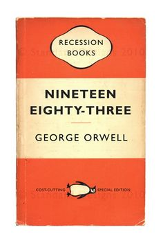 Recession Books NineteenEighty Three by George by StandardDesigns, £12.00
