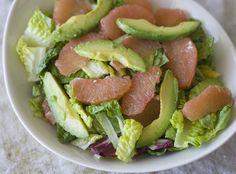 Avocado and Grapefruit Salad by InspiredRD.com