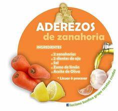 Aderezo de Zanahoria