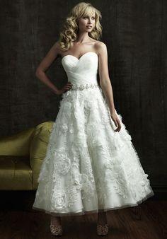 Short wedding dress wedding