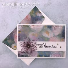 Simple Saturday: A Perennial Essence Trio of Note Cards (Mary Fish, Stampin' Pretty The Art of Simple & Pretty Cards) Daisy, Mary Fish, Stampin Pretty, Stamping Up Cards, Card Patterns, Card Envelopes, Pretty Cards, Card Sketches, Paper Cards