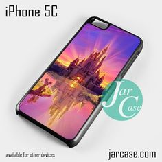 Disney Castle YP Phone case for iPhone 5C and other iPhone devices