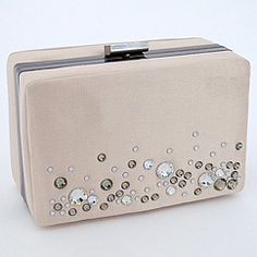 Designer handbags and evening bags from Bourne Collections.  Find the Vera Clutch with matching shoes! Fabulous handbags for formal occasions & nights out.
