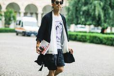 Street Style Milão Masculino- Verão 2017 junho/2016 foto: FOTOSITE