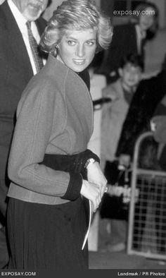Princess Diana Photo April 21, 1989 - London, UK