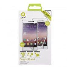 Pellicola Protettiva Huawei Ascend P7 Muvit Mate e Lucentezza 2 unità € 10,99