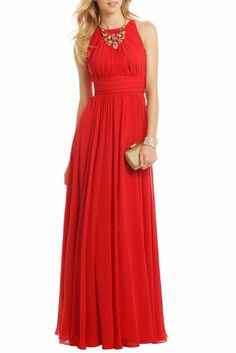 Chiffon Long Bridesmaid Dress - My Wedding Ideas