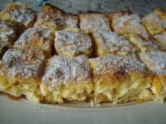 Placinta cu branza si stafide (a Romanian version of Tyropita that is a little sweet) Romanian Desserts, Romanian Food, Lithuanian Recipes, Russian Recipes, Cheesecake Recipes, Cookie Recipes, Russian Cakes, Good Food, Yummy Food