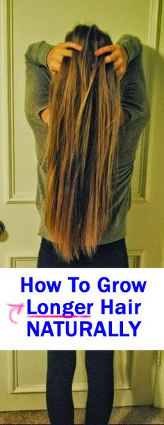 I used a few simple tips and products to grow my hair longer - all naturally! It's really easy, you just gotta know what to do. It takes some time (a few mins every day), but put these tips to work to help grow your hair longer naturally!