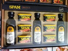 Spam Gift Set in Korea. This is the perfect gift to give for Korea's Harvest Festival: Chuseok