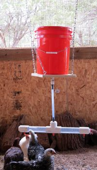 CHICKEN NIPPLE WATERER | DIY chicken waterer kit with drill bit