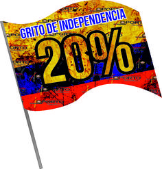 Grito de independencia #ModaParaValientes en #Cartago cerca #Pereira