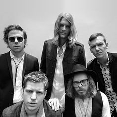 Cage The Elephant, whose name is inspired by a post-gig encounter with a…