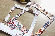 Tutorial: Marcos de Tela por @Johana Quezada-Frez   Tutorial: Fabric Frames by @Johana Quezada-Frez