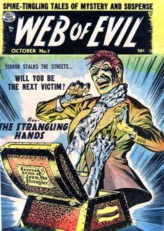 Comic Book Cover For Web of Evil v1 #7