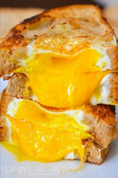 Egg-in-the-Hole Sandwich