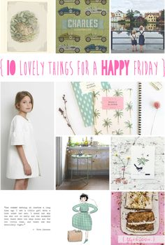 lily&Bloom . hAppy fridAy . {   10 lOvely things that caught my eye this week . banana bread & Beatrix' birthday . puzzles & planners . illustrations & Ikea . siblings & simplicity . & . wonderful women writing wise words } .