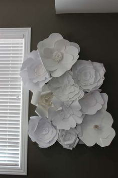 Floral decorations at a Disney bridal shower party! See more party planning ideas at CatchMyParty.com!