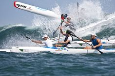 #Surfski #race in #Mauritius. Ride the wave with LUX* Sports. http://sports.luxresorts.com/