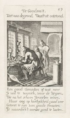 Jan Luyken   Goudsmid, Jan Luyken, 1694  